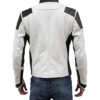 SpaceX Dragon Space Suit Inspired Leather Jacket Back