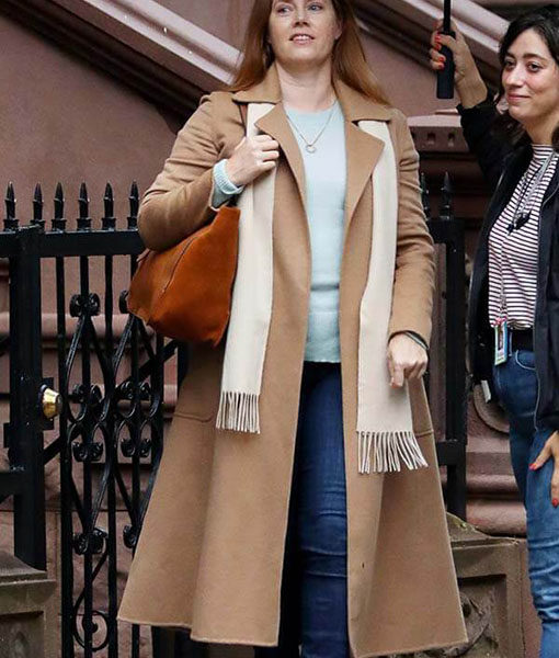The Woman In The Window Amy Adams Wool Coat
