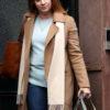The Woman In The Window Amy Adams Wool Coat