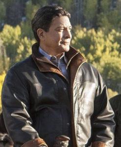 Thomas Rainwater Leather Jacket