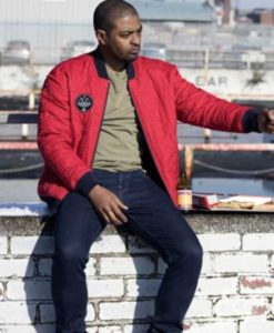 Aaron Bishop Red Bulletproof Jacket