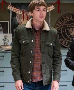 Alex Standall Green 13 Reasons Why Jacket