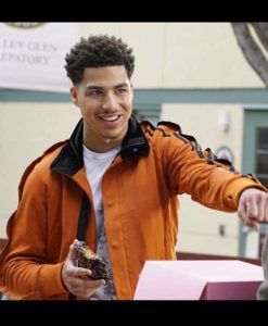 Andre Johnson Jr. Brown Black-ish Jacket