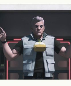 Batou Grey Ghost In The Shell Vest