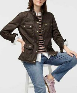 Beth Boland Brown Good Girls Jacket
