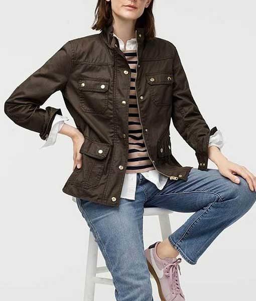 Beth Boland Brown Good Girls Jacket