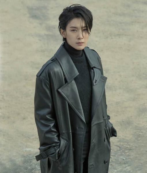 Cha Young Jin Black Nobody Knows Coat