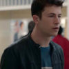 Clay Jensen Black 13 Reasons Why Jacket