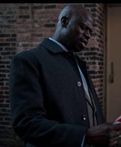 Detective Black Dangerous Lies Coat