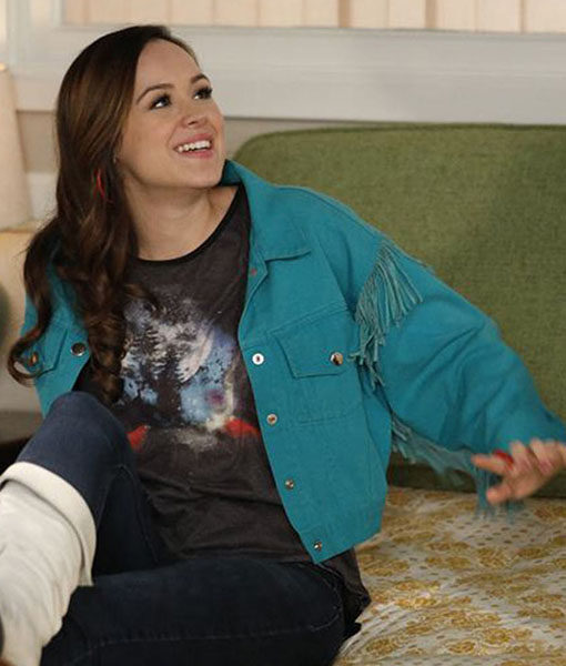 Erica Goldberg Blue The Goldbergs Jacket
