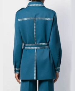 Goo Seo-Ryung Blue The King Eternal Monarch Coat