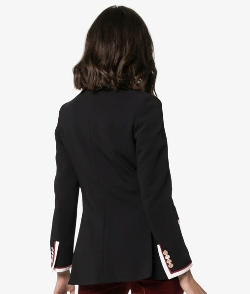 Hélène Black Killing Eve Coat
