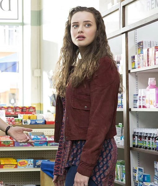 Hannah Baker Maroon 13 Reasons Why Jacket