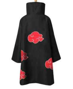 Itachi Uchiha Black Naruto Coat