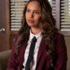 Jessica Davis Burgandy 13 Reasons Why Blazer