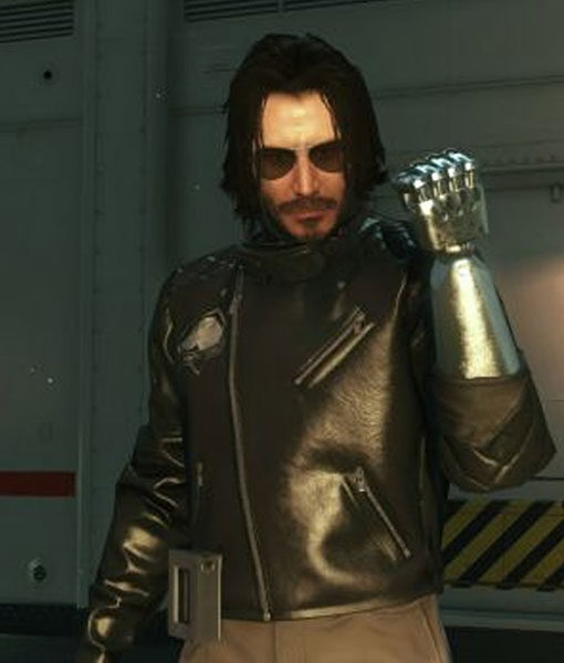 Johnny Silverhand Black Cyberpunk 2077 Jacket