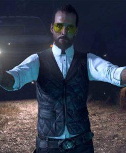 Joseph Seed Blue Far Cry 5 Vest