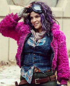 Juanita Sanchez Purple The Walking Dead Jacket
