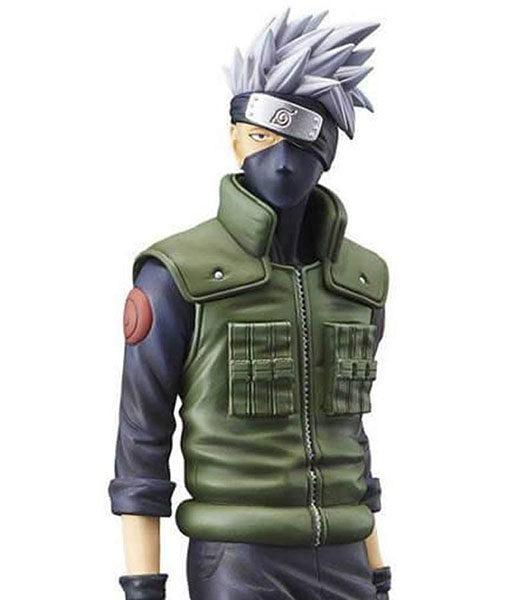 Kakashi Hatake Green Naruto Vest