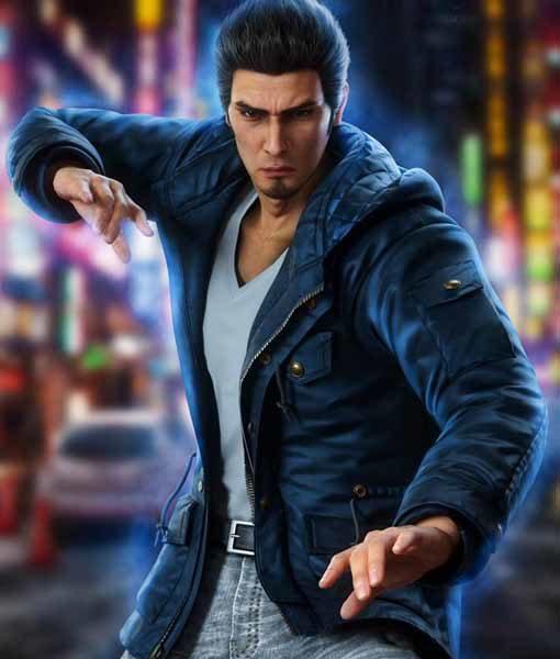 Kazuma Kiryu Black Yakuza 6 Jacket