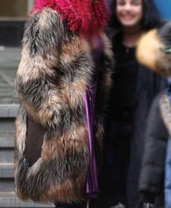 Kory Anders Brown Titans Coat