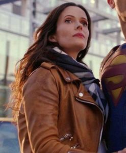 Lois Lane Brown Superman and Lois Jacket