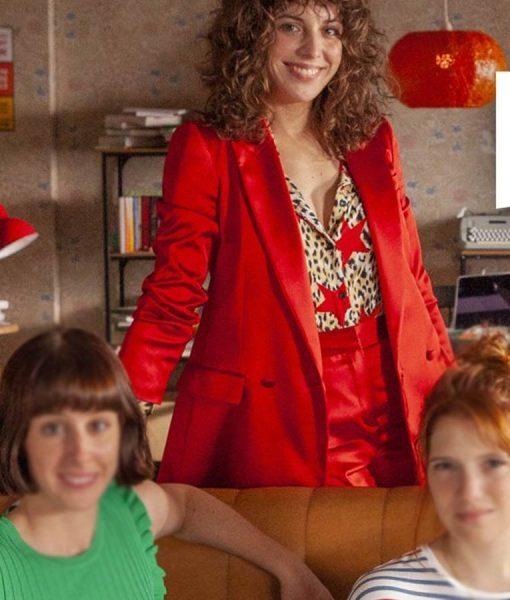Lola Red Valeria Coat