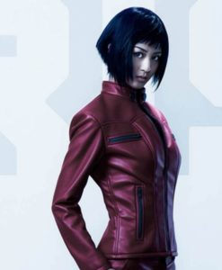 Major Red Ghost In The Shell Jacket