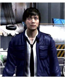 Masayoshi Tanimura Blue Yakuza 4 Jacket