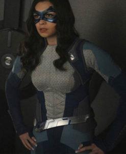 Nia Nal Grey Supergirl Jacket