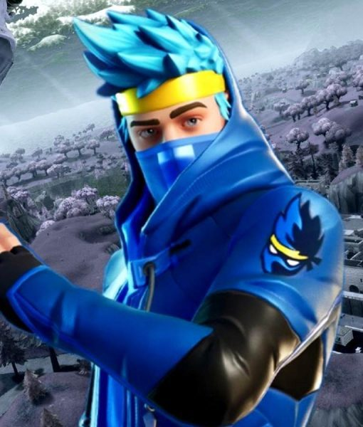 Ninja Blue Fortnite Jacket