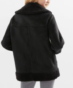 Nora Antony Black Upload Jacket