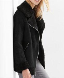 Nora Antony Upload Black Jacket