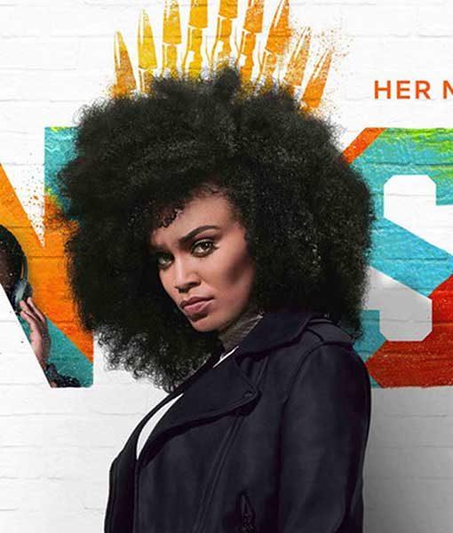 Queen Sono Black Queen Sono Coat