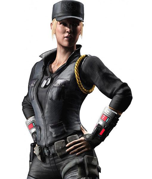 Sonya Blade Brown Mortal Kombat Vest