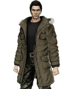 Taiga Saejima Brown Yakuza 5 Coat