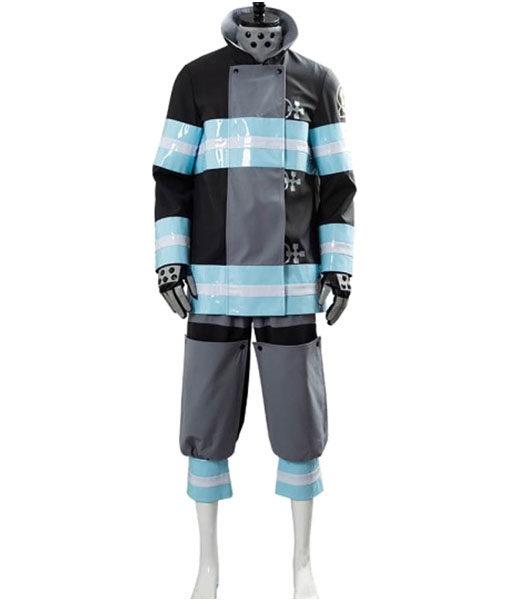 Tamaki Kotatsu Black Fire Force Jacket