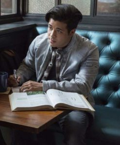 Tony Padilla Grey 13 Reasons Why Jacket