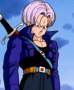 Trunks Purple Dragon Ball Z Jacket