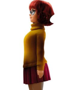 Velma Dinckley Orange Scoob Sweater