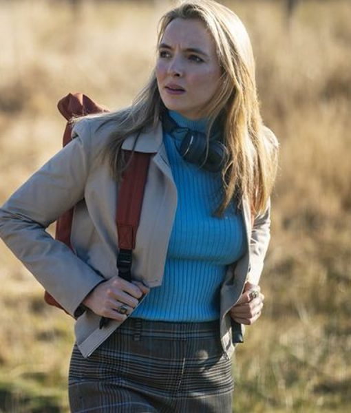 Villanelle Beige Killing Eve Jacket