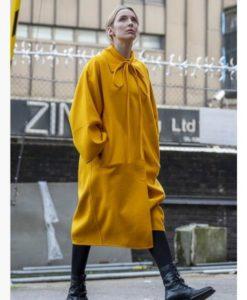 Villanelle Yellow Killing Eve Coat