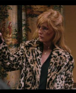 Beth Dutton Yellowstone Cheetah Print Coat