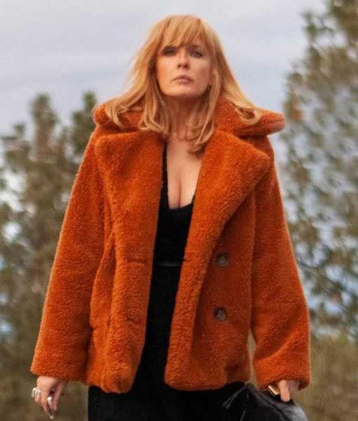Beth Dutton Yellowstone Fur Coat