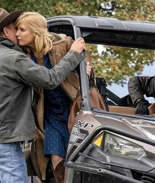 Beth Dutton Yellowstone S03 Finale Coat