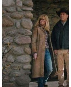 Beth Dutton Yellowstone S03 Finale Coat