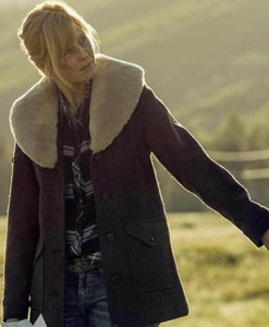 Beth Dutton Yellowstone Wool Coat