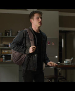 Clay Jensen 13 Reasons Why Denim Jacket