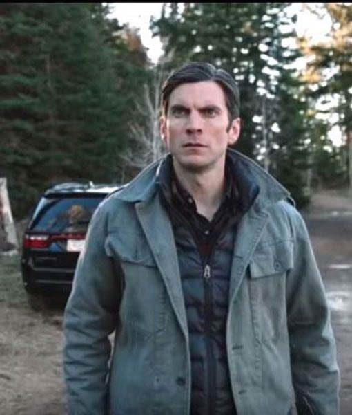 Jamie Dutton Grey Yellowstone Jacket