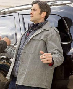 Jamie Dutton Grey Yellowstone Jacket